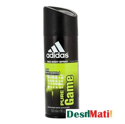 Picture of Adidas pure game deo body spray 150ml/96g