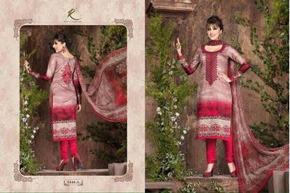 Picture of Exclusive Dress Burnt & Dusty Rose