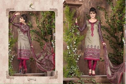 Picture of Exclusive Dress Brick & Warm Grey
