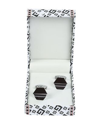 Picture of Yamin Exclusive Men's Cufflink - Black and Gray