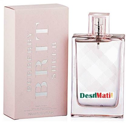 Picture of Burberry Brit Sheer for Women, 100ml