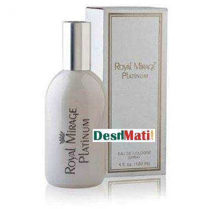 Picture of Royal Mirage Platinum Eu De Cologne Spray-120 ml