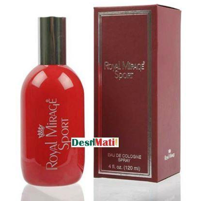 Picture of Royal Mirage Sport Eau De Cologne Spray Perfume 100ml
