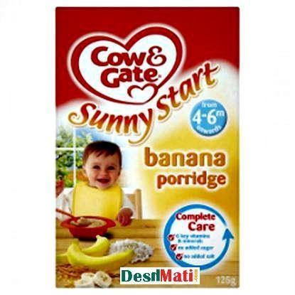 Picture of 4-6 Months Cow & Gate Sunny Start Banana Porridge-125 gm.