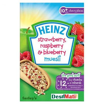 Picture of Heinz Strawberry Raspberry And Blueberry Muesli - 240g