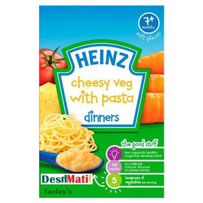 Picture of 7+ Months Baby Heinz Cheesy Veg With Pasta Dinners-100g