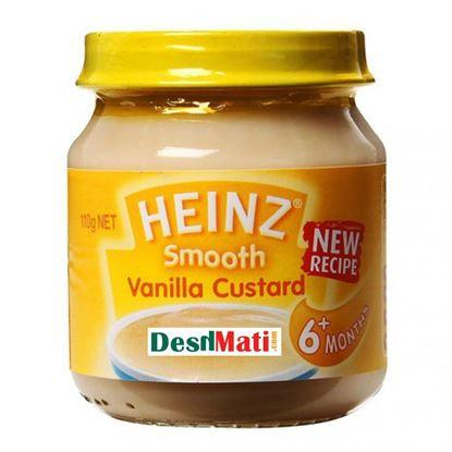 Picture of Heinz Smooth Vanilla Custard Baby Food 6+ Months - 110gm