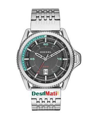 Picture of DIESEL Stainless Steel Quartz Analog Watch for Men - Silver