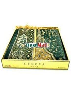 Picture of Muslim Prayer Genova Home Aydin Box Janamaz-Turkey Green