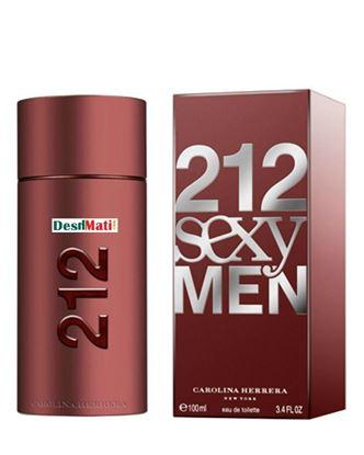 Picture of Carolina Herrera 212 Sexy Eau De Toilette Spray For Men - 100ml