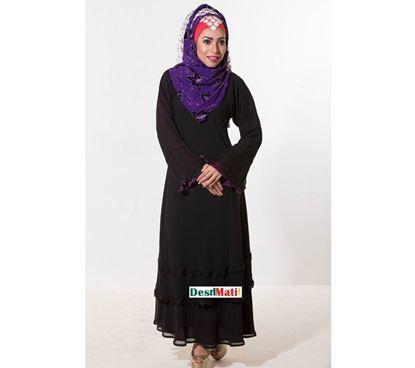 Picture of Raka Fashion Exclusive Women's Dubai Two Part Borka code#9010