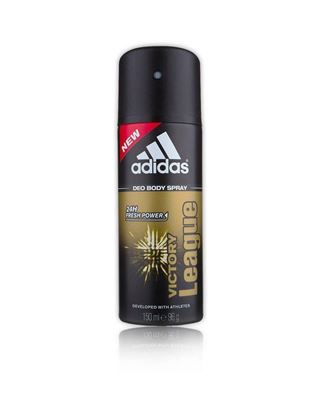 Picture of Adidas Victory League 24hrs Deo Spray For Men - Black and Khaki