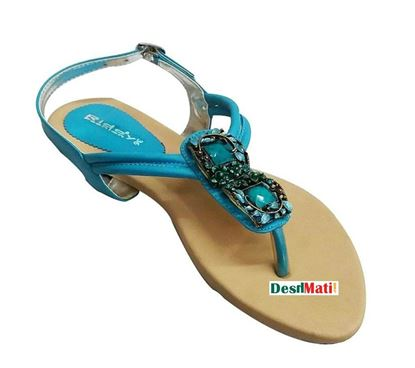 Picture of FAUX Ladies Leather Sandals/লেডিজ FAUX লেদার স্যান্ডেল