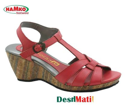 Picture of HAMKO Ladies Semi-heeled sandals/HAMKO লেডিজ সেমি-হিল স্যান্ডেল