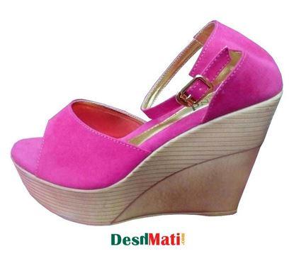 Picture of Ladies high heels shoe/লেডিজ হাই হিল শু code#2123