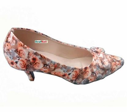 Picture of Ladies Floral Shoe/লেডিজ ফ্লোরাল শু code#2124