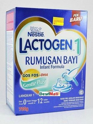 Picture of Nestle‬ Lactogen Rumusan Bayi Infant Furmula (0 -12 Month) 700 gm.