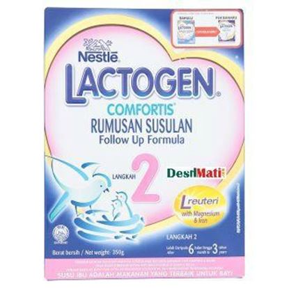 Picture of Nestlé Lactogen 2 Comfortis Follow-Up Formula 350g