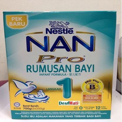 Picture of Nestle Nan Pro Rumusan Bayi Langkah 1 (700g)