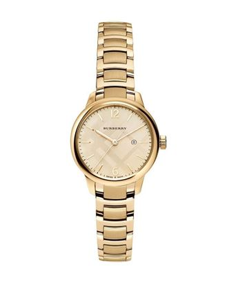 Picture of Burberry Stainless Steel Analog Watch for Women - Golden
