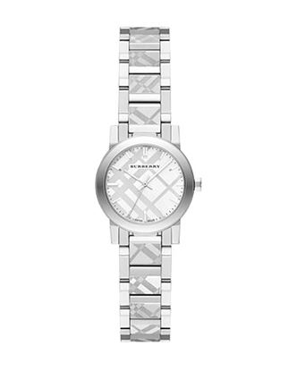Picture of Burberry Stainless Steel Analog Watch For Women - Silver