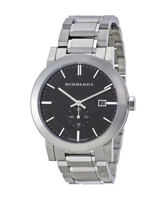 Picture of Burberry Stainless Steel Chronograph Watch for Men - Dark Grey
