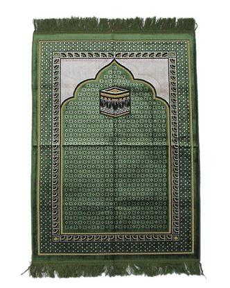 Picture of Muslim Prayer Janamaz - Green