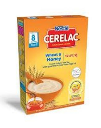 Picture of NESTLÉ CERELAC Wheat & Honey (Stage 2, 8 months +) BIB-400gm