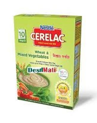 Picture of NESTLÉ CERELACWheat & Mixed Vegetables (Stage 3, 10 months+) BIB-400gm