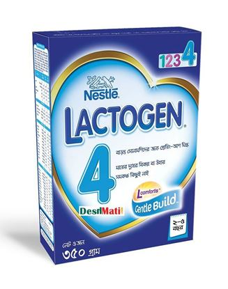 Picture of Nestle LACTOGEN 4 Bib(Growing-Up Milk for Child)-350gm