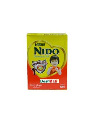 Picture of Nestle NIDO 1+ Fortified Full Cream Milk Powder 400 gm.