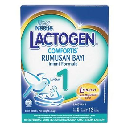 Picture of Nestlé Lactogen-1 Comfortis Infant Formula. 350gm.