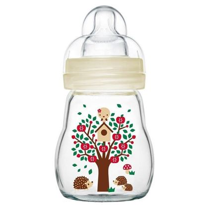 Picture of Philips Avent MAM Glass Baby Feeding Bottle - 170ml
