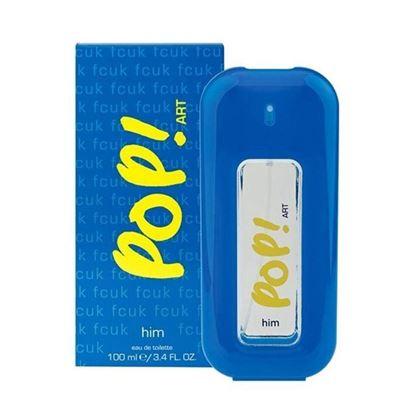 Picture of FCUK Pop Art Eau de Toilette Spray for Men - 100ml