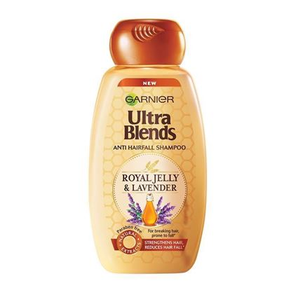 Picture of Garnier Ultra Blends Anti Hairfall Shampoo - Royal Jelly and Lavendar - 175ml