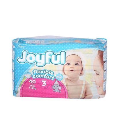 Picture of Joyful Baby Diaper Flexible Comfort 3 junior (4-9) kg - 40 pcs