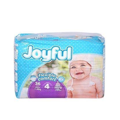 Picture of Joyful Baby Diaper Flexible Comfort 4 Maxi (7-18) kg - 36 pcs
