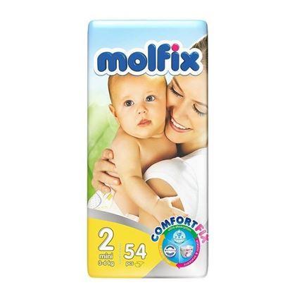 Picture of Molfix Twin Mini Belt Diaper 3-6 Kg - 54 Pcs
