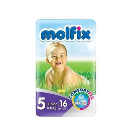 Picture of Molfix Eco Junior Belt Diaper 11-18 Kg - 16 Pcs