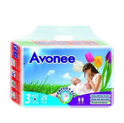 Picture of  Avonee Diaper –Midi (4-9 Kg)-29Pcs
