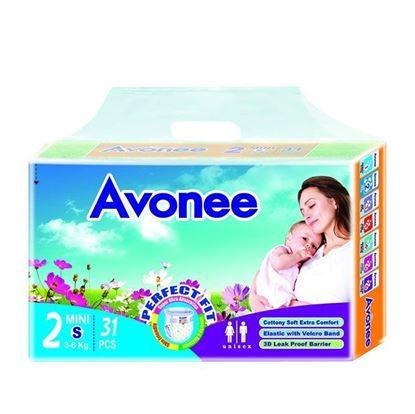 Picture of  Avonee Diaper –Mini (3-6 Kg)-31Pcs
