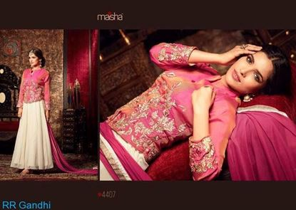 Picture of Masha Brand Original Indian Gown
