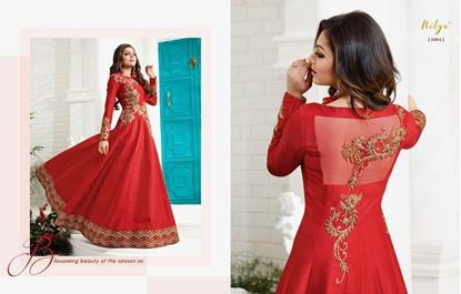 Picture of LT Fabric Original Indian Gown Red