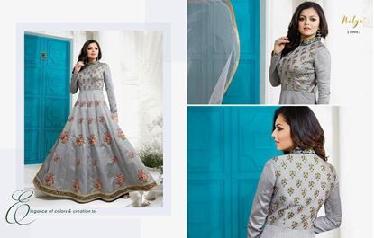 Picture of LT Fabric Original Indian Gown Grey