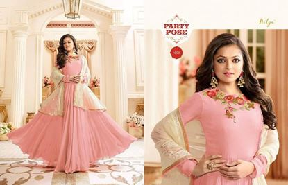 Picture of LT Fabric Original Indian Gown Pink