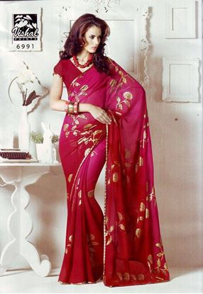 Picture of ORIGIN INDIAN Soft Georgette Red