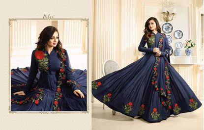 Picture of LT Fabric Original Indian Gown blue