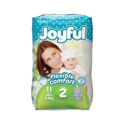 Picture of Joyful Baby Diapers Mini - Flexible Comfort (3-6Kg) - 11Pcs