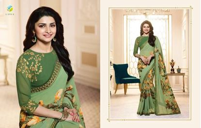 Picture of Original Indian Pure Chiffon Georgette