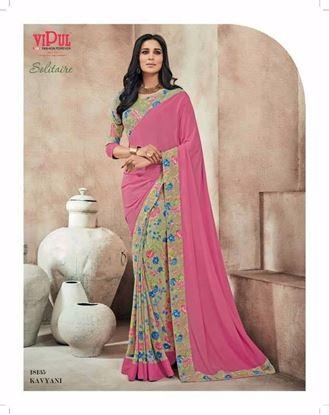 Picture of Original Indian saree Pink